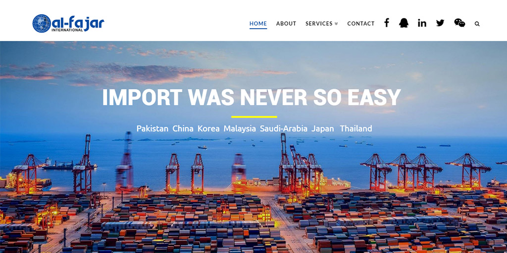 Al-Fajar International - Import was never so easy
